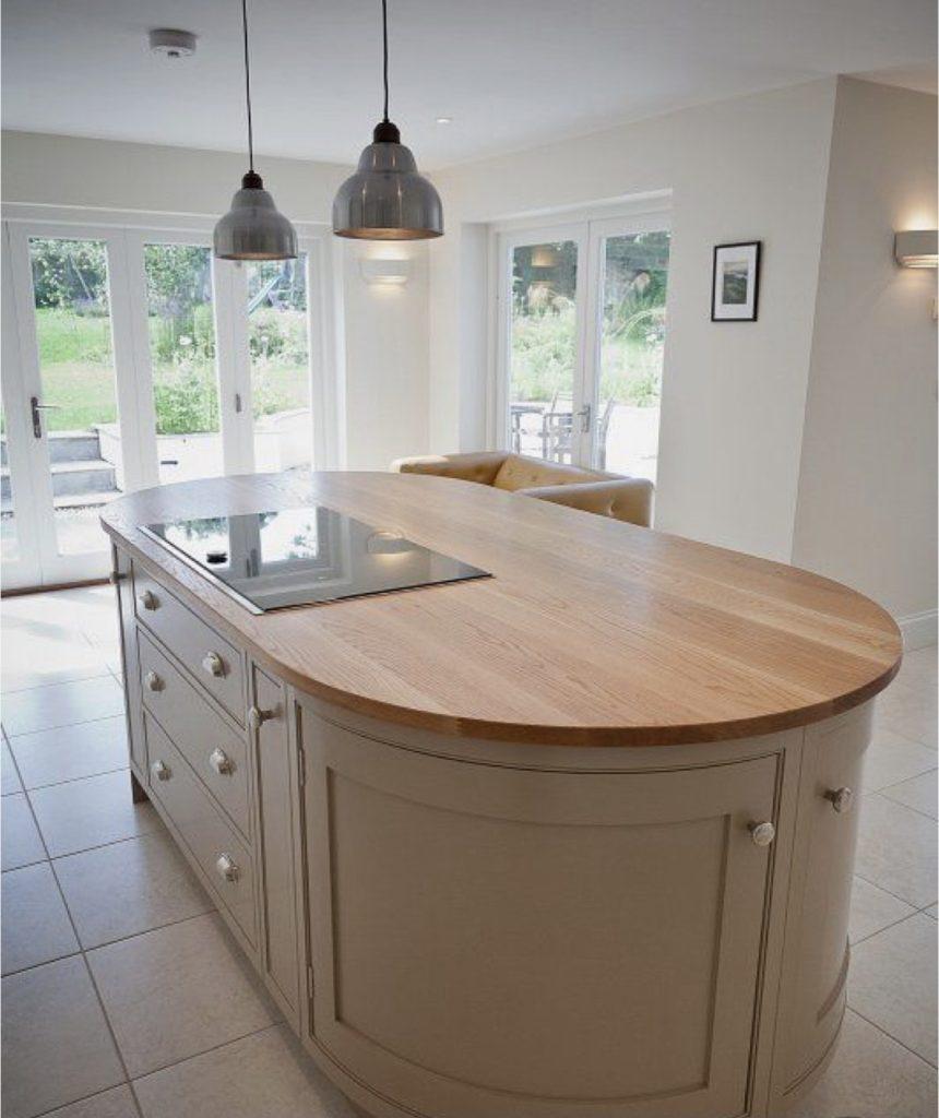 dubová kuchyňská pracovní deska