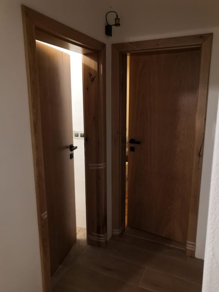 Masivní dubové interiérové dveře 2