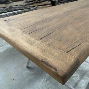 Masivní stolová dubová deska z fošen 4