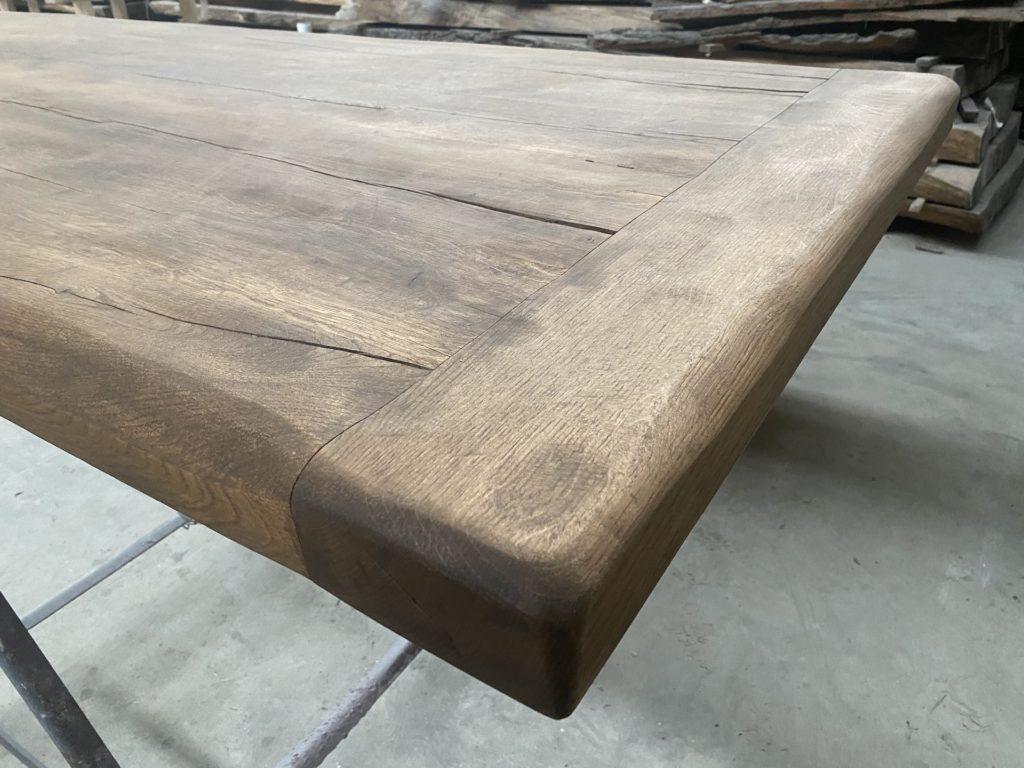 Masivní stolová dubová deska z fošen 5