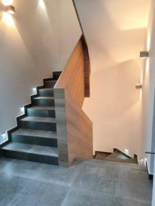 Dubová schodišťová madla, dubové zábradlí 1
