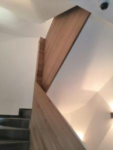 Dubová schodišťová madla, dubové zábradlí 2