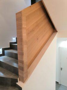Dubová schodišťová madla, dubové zábradlí 4