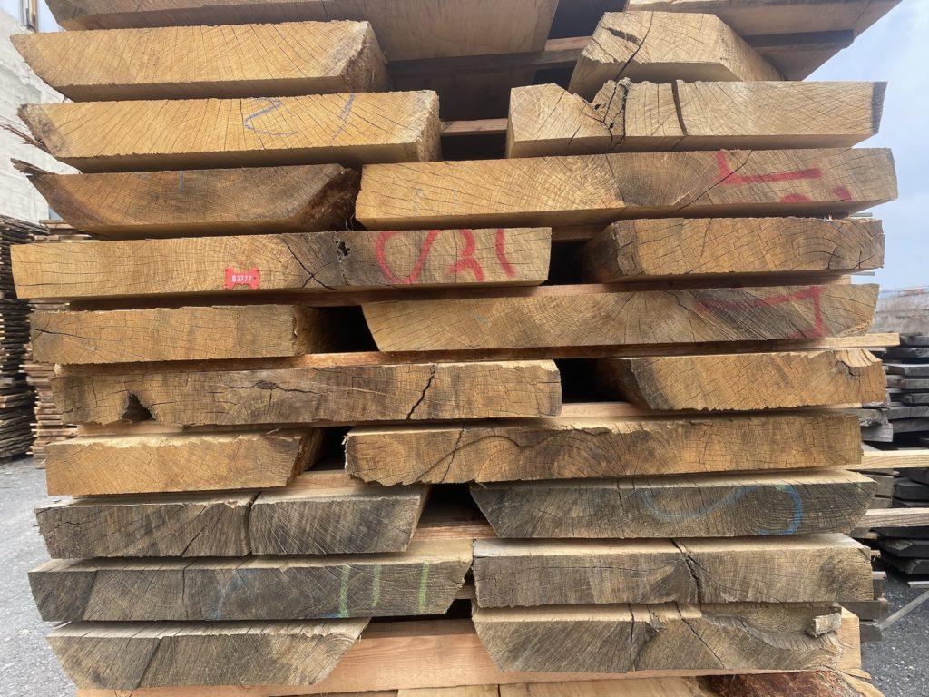 Dubové fošny, dubová prkna, dubové řezivo 2