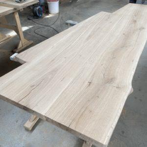 Dubová pracovní kuchyňská deska do letní kuchyně 3