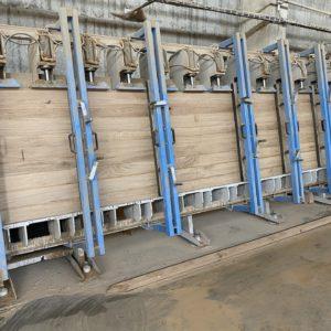 Výroba dubové spárovky